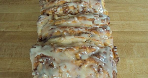 Apple Fritter Bread= amazing!!!! Perfect Fall breakfast or dessert!