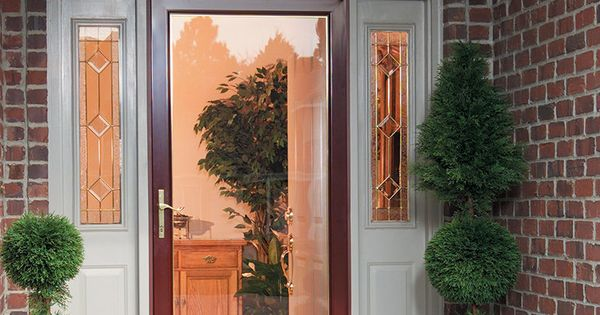 Security can be beautiful with larson secure elegance security doesn 39 t mean sacrificing style - Larson secure elegance door ...