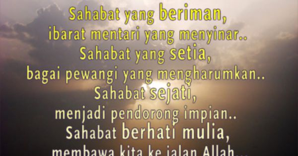 Image Result For Quotes Sahabat Pinterest