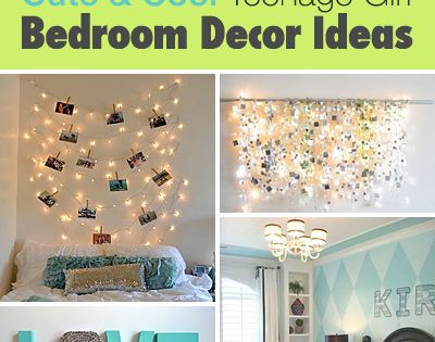 Cute and Cool Teenage bedroom ideas :)