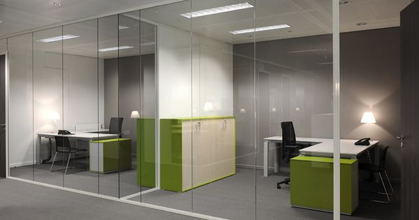 Separadores ambiente cristal oficinas modernas - Separadores oficina ...