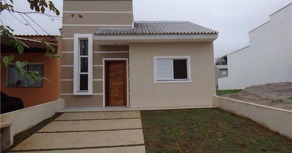 Fachadas de casas simples e pequenas 23 casita for Fachada apartamentos pequenos