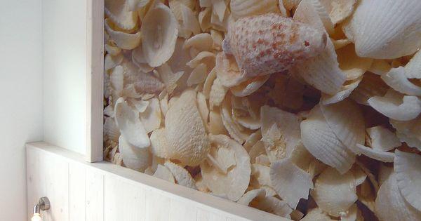 Ontwerp bed ombouw door studio de woon factor de foto van de schelpen is genomen op - Bebe ontwerp ...