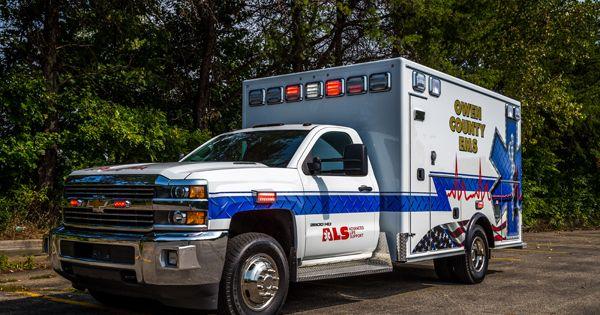 Chevrolet Kodiak Ambulance Indianapolis Fire Department Emergency