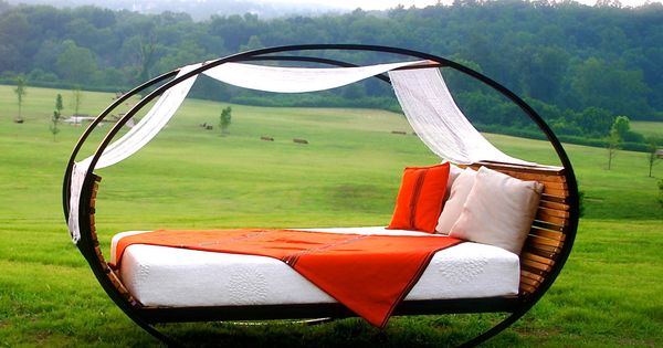 Queen sized rocking bed this would be awesome things i want pinterest hamacas dobles - Hamacas dobles ...
