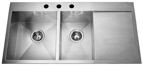 Who Makes Stainless Steel Drainboard Kitchen Sinks Offset Kitchen Sink Kitchen Sink Drainboard Sink Stainless steel kitchen sinks with drainboards