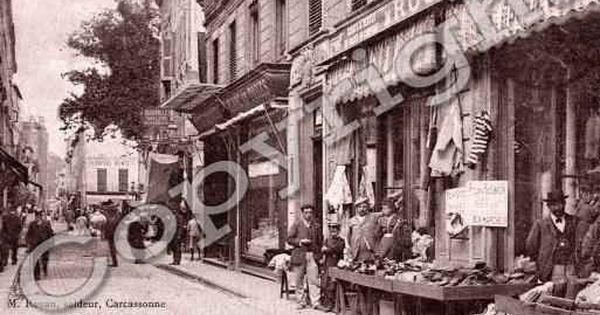 Ville De Carcassonne Carte Postale Ancienne Carte Postale Carte Postale Ancienne Paysage De Campagne