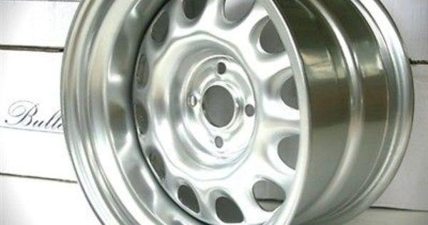 Bullet Wheels 15x9 15x8 Set Wide Steel Golf Mk1 Mk2 Vw Alloy