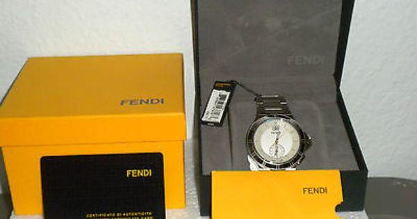 17 best images about fendi logos fendi and two tones mens fendi watch sport divers fendi orologi new registered model serial 995 00