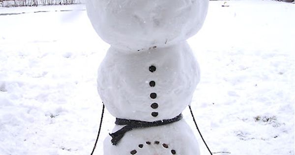 how clever is this upside down snowman! Remember this for the snowman