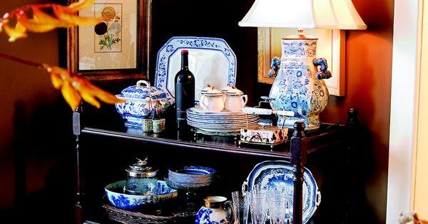 Dining room details stunning display for the home pinterest servies en decoratie - Tijdschrift interieur decoratie ...