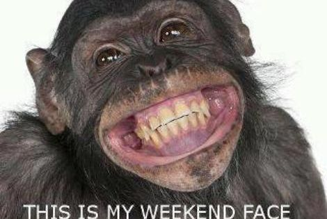 Happy Weekend Face :D