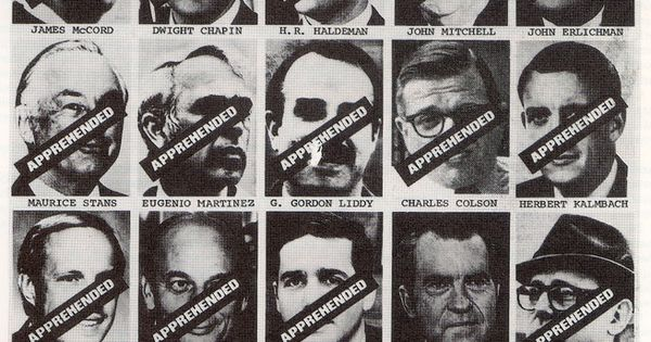 A history of the watergate scandal presented in all the presidents men