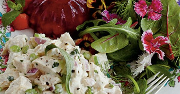 Ladies Luncheon Menu: Tarragon Chicken Salad Recipe