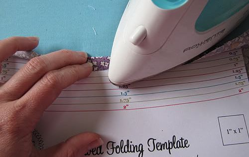 Free Download of a Folding Template. What a clever woman to think