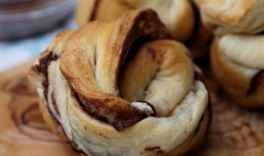Nutty Nutella Rolls- YUM