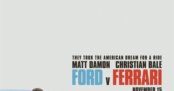 Ford Vs Ferrari Filme Completo Legendado Online In 2020 With