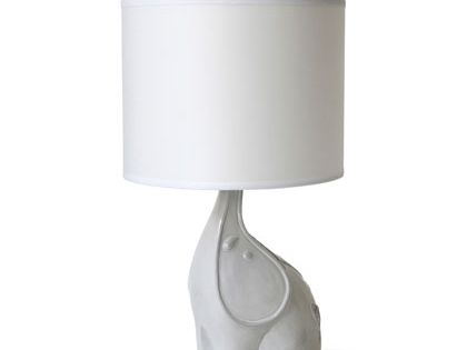 Jonathan Adler Utopia Elephant Lamp in Table Lamps or the elephant for