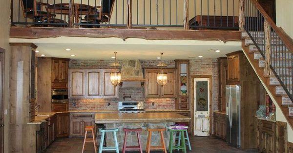 Barndominium ideas barndominium kitchen dream for Rimodellare i piani per la casa in stile ranch