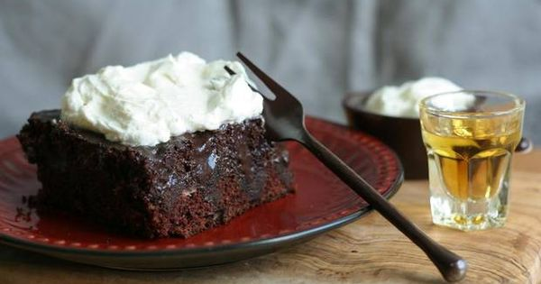 Chocolate poke cake with bourbon whipped cream - The Globe and Mail ...