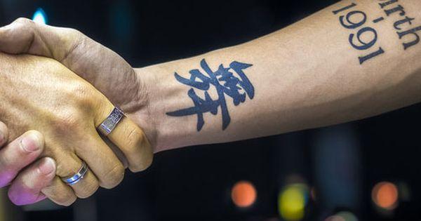 The Meaningful Kanji Tattoo Design Japanese Kanji Tattoos Symbol Tattoo Design Inspiration Japanese Tattoo Symbols Symbolic Tattoos Kanji Tattoo