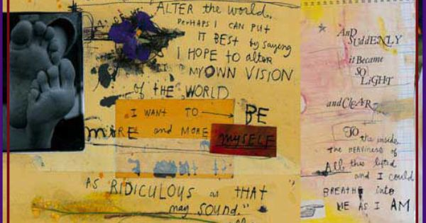 favorite artist sabrina ward harrison | art journaling ... Sabrina Ward Harrison Sketchbook