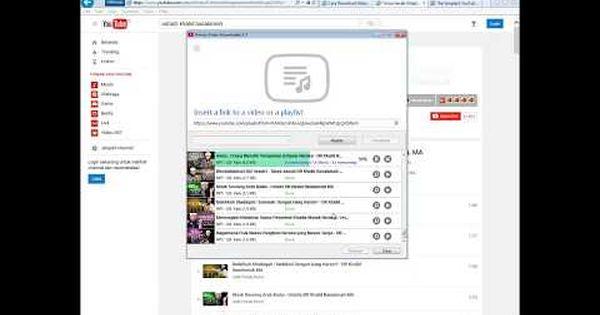 Tutorial Cara Download Video Youtube Dan Convert Jadi Mp3 Youtube