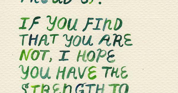 """I hope you life a life you're proud of."" F. Scott Fitzgerald"