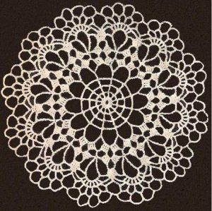 Free Crochet Doily Patterns Chair Set Patterns Free Vintage