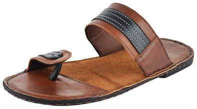 Leather slippers for men, Leather