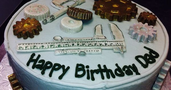 Engineering/Mechanics Cake Custom Cakes Pinterest ...