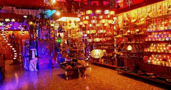 El museu tienda de decoraci n y artesan a lamparas turcas - Artesania y decoracion ...