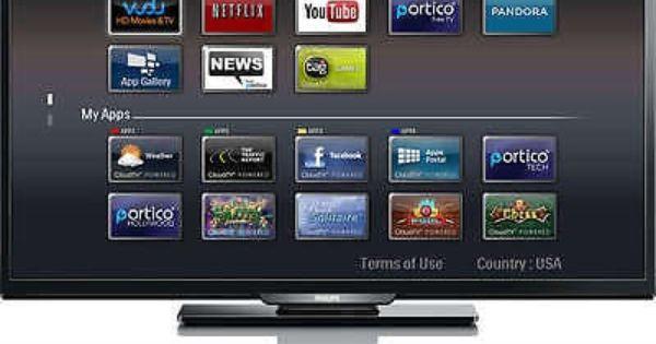 Philips 40 1080p 120hz Led Smart Tv For Sale Led Tv Lcd Tv Smart Tv