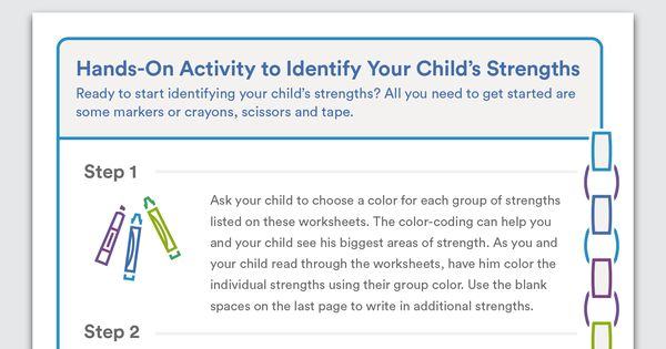 Download Hands On Activity To Identify Your Child S
