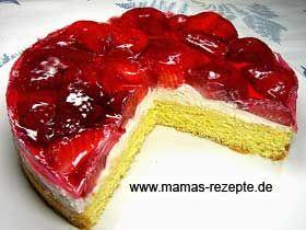 Kleiner Erdbeer Quarkkuchen Mamas Rezepte Mit Bild Und Kalorienangaben Kuchen Kleine Kuchen Backen Erdbeer Quark Kuchen