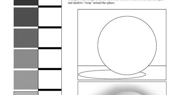 value scale and sphere worksheet 7th grade art blending value shading middle school art. Black Bedroom Furniture Sets. Home Design Ideas