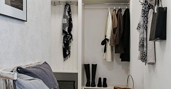 Scandinavisch interieur 01 interieur pinterest interieur droomappartement en eerste huis - Deco hal binnenkomst huis ...