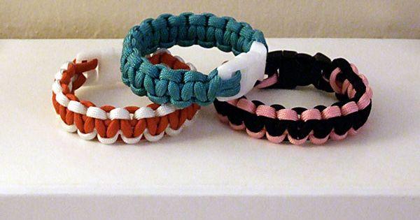 Parachute Cord Bracelets!