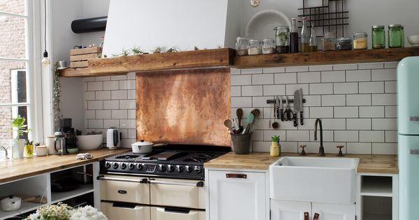 Kochen kuche kuche pinterest kupfer moderne for Kupfer küche