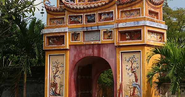 Gate to the Imperial City in Hue, Vietnam CLICK THE PIC and