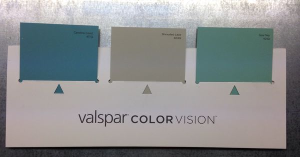 Featured Colors Carolina Coast Shrouded Lace And Spa Day Paint Pinterest Valspar And House