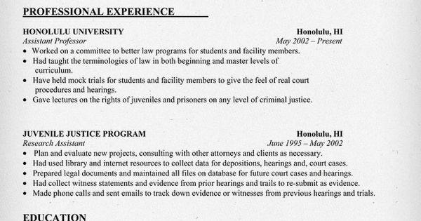 lawyer resume sample  resumecompanion com   law  legal