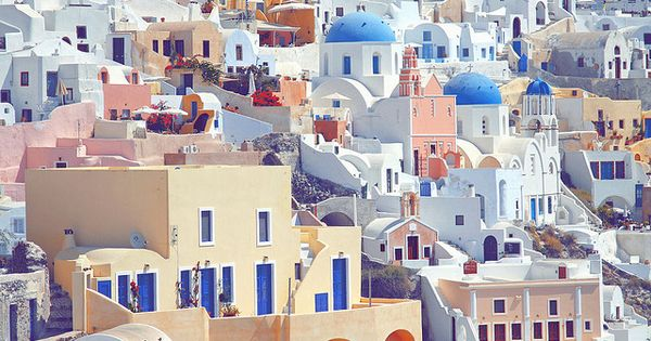 a dream, Santorini