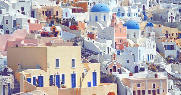 a dream, Santorini