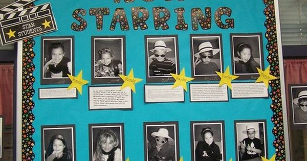 -Hollywood Classroom Theme -pictures / photos -tips / ideas -bulletin board ideas