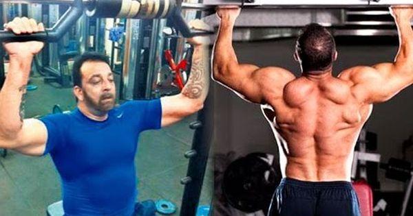 Sanjay Dutt Salman Khan Gym Body Building Workout After Release From Jail Bodybuilding Workouts Gym Body Bodybuilding Diet