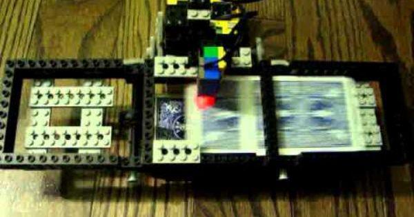 Lego Mindstorms Playing Card Shuffler Lego Mindstorms Lego Lego Technic