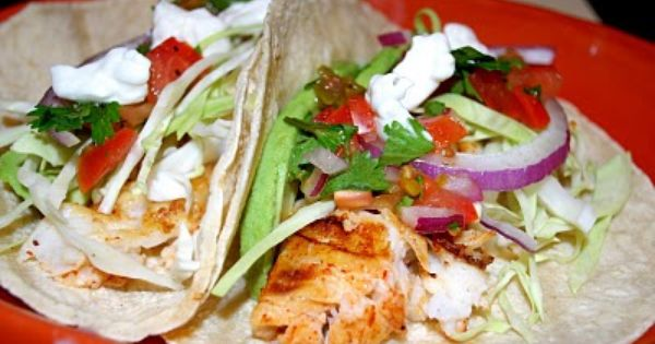 Fish tacos tacos taco recipe and the egg for Fish tacos food network