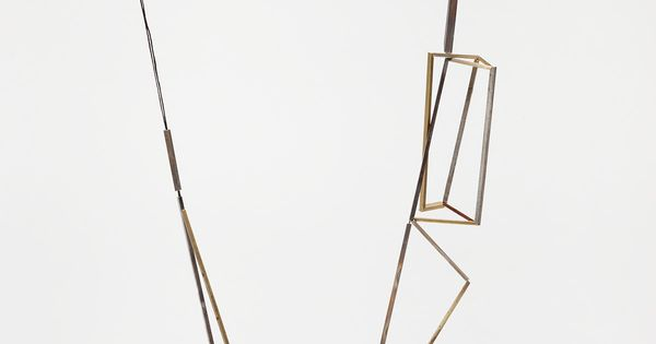 Contemporary Necklace | Emma Price 'Necklace 6′ silver, brass, copper, gold 2010