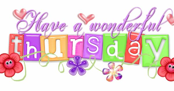 Have A Wonderful Thursday Cute Quote Colorful Thursday